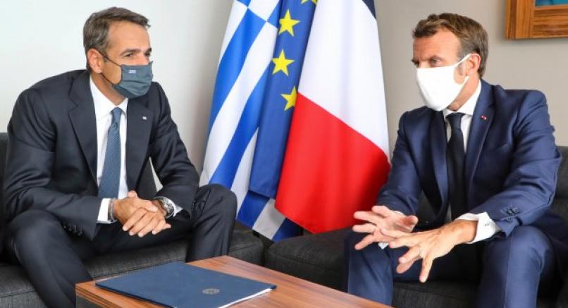 Miçotakis: Saldırı halinde Fransa Yunanistan'ın yanında olacak