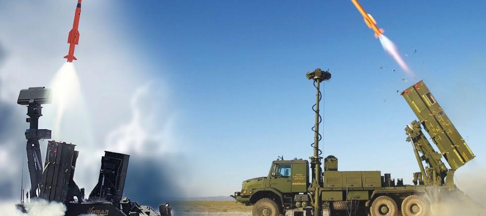 Milli ve yerli hava savunma füze sistemi 'HİSAR-A+' envantere giriyor