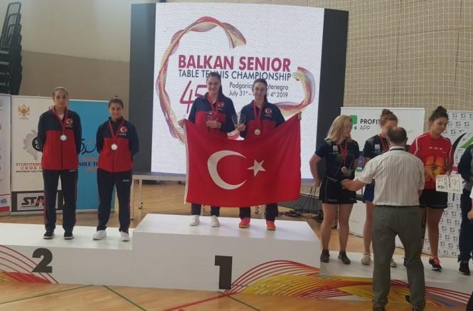 Özge Yılmaz, Balkan Şampiyonu Oldu