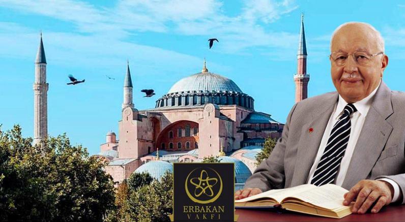 Prof. Dr. Necmettin Erbakan vefatının 10. yılında  Ayasofya'da anılacak