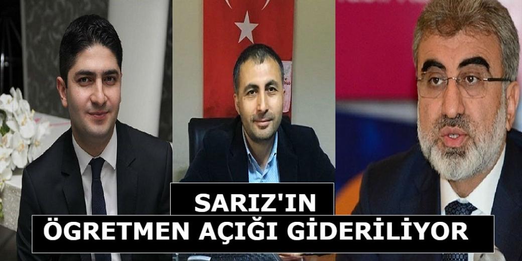 Sarız' a Belediye Başkanı Bayrak' ın çabalarıyla 23 öğretmen ataması yapılacak