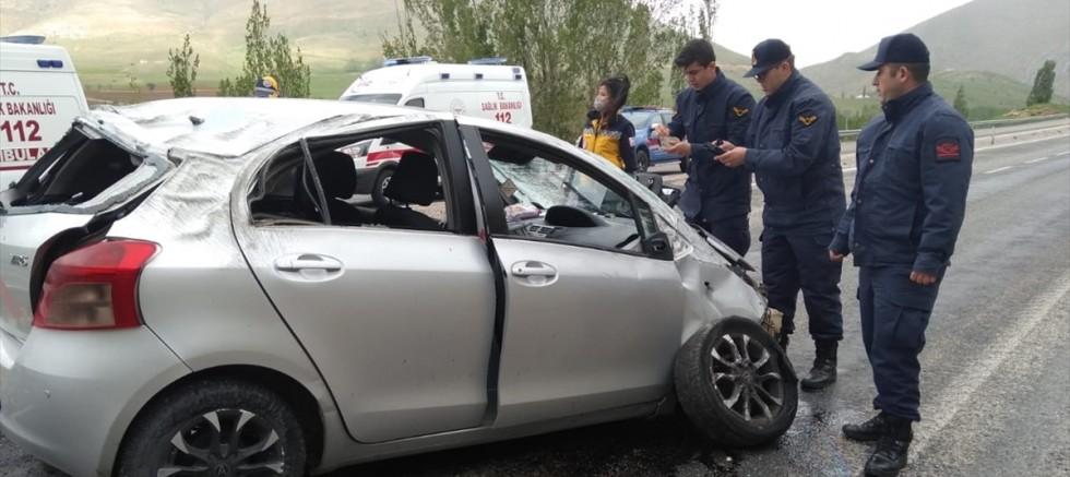 Sarız' da otomobil devrildi: 1 kişi öldü, 2 kişi yaralandı