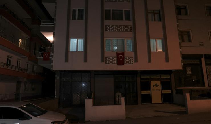 Şehit Jandarma Uzman Çavuş Hüseyin Keleş'in Ankara'daki ailesine acı haber verildi