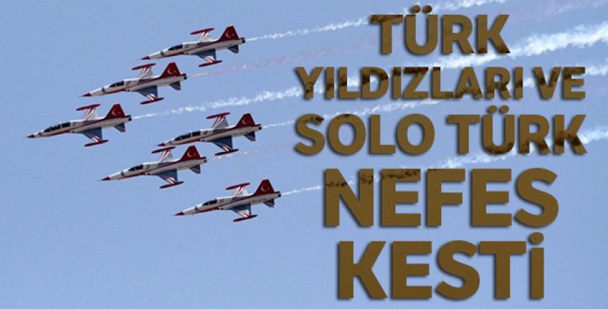 SOLOTÜRK ve Türk Yıldızları Sivas 'ta gösteri uçuşu yaptı