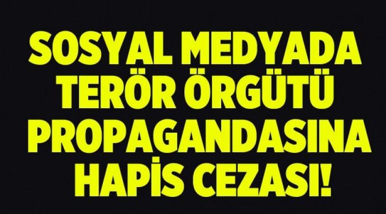 Sosyal medyadan terör örgütü propagandasına hapis cezası