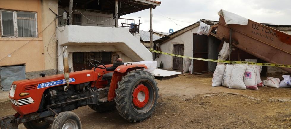 Süt sağarken elektrik akımına kapılan kişi öldü