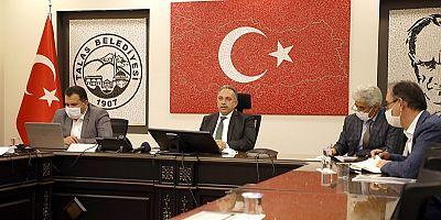 Başkan Yalçın : '' Talas'a birlikte hizmet ediyoruz ''
