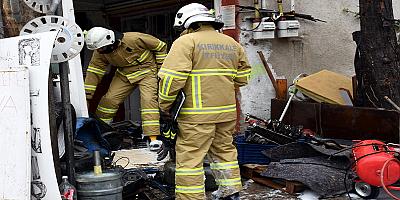 İş yerinde gaz sızıntısından kaynaklı patlamada bir kişi yaralandı