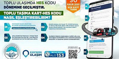 Kayseri'de toplu ulaşımda 1 Aralık itibariyle kağıt biletler geçersiz olacak