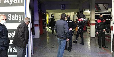 Konya'da Oto tamir ve yıkama işletmesine silahlı saldırı 1 kişi öldü, 2 yaralı