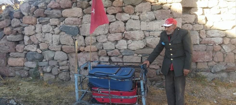Tomarza' da Mehmet dedenin ekmek mücadelesi