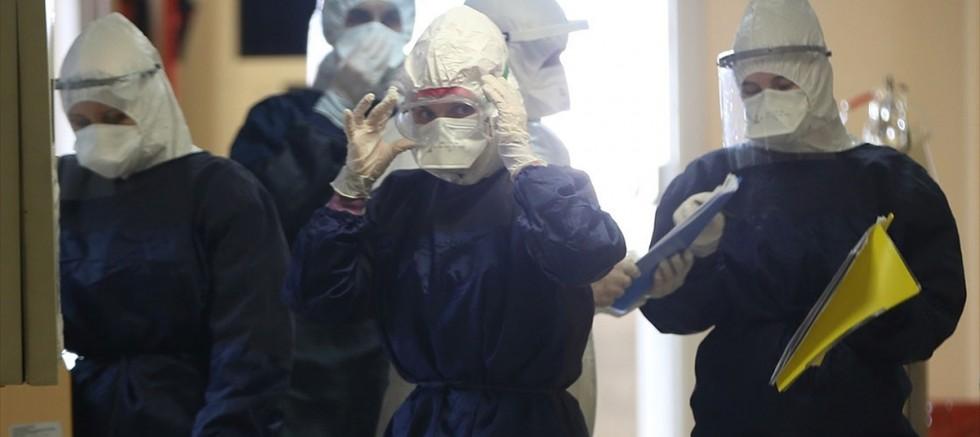 Türkiye'de son 24 saatte Kovid-19 'dan 123 kişi hayatını kaybetti