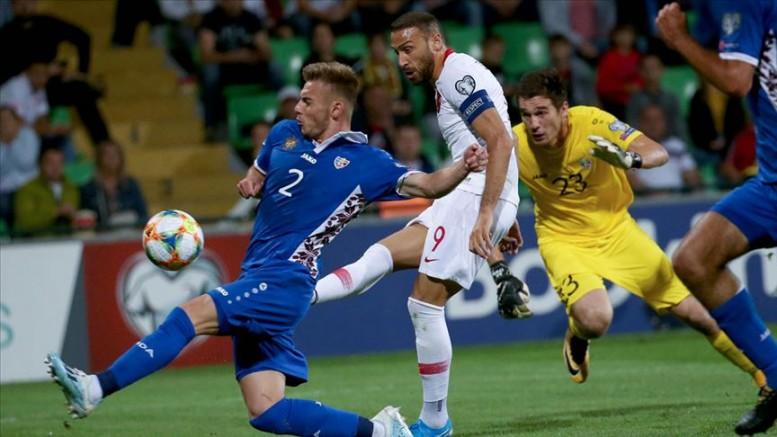 Türkiye, Moldova'yı 4-0 yendi.