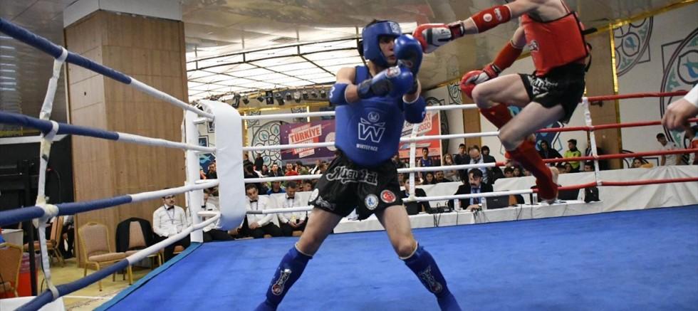 Türkiye Muaythai Şampiyonası'nı Kayserili sporcular ilk sırada bitirdi