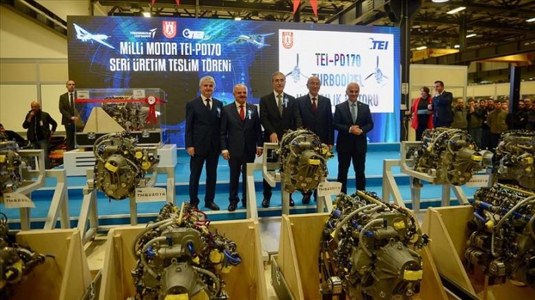 Türkiye'nin ilk yerli ve milli motoru teslim edildi