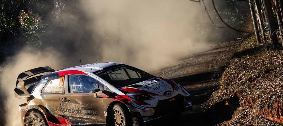 WRC Şili Rallisi'nin galibi Toyota oldu