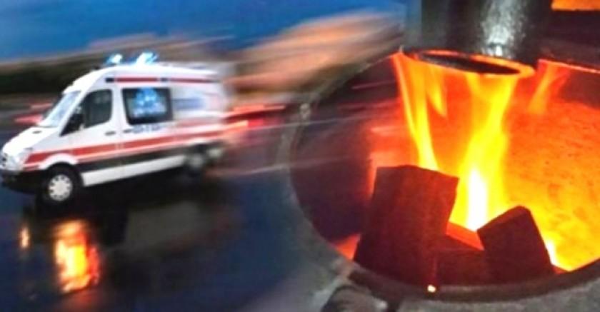 Yeşilhisar 'da karbonmonoksitten zehirlenen karı koca hastaneye kaldırıldı