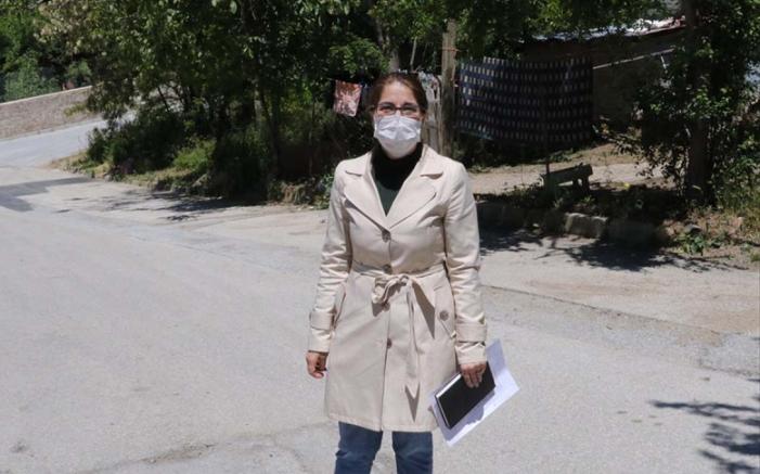 Yozgat'ta kadın muhtar adayı seçimi kazandı