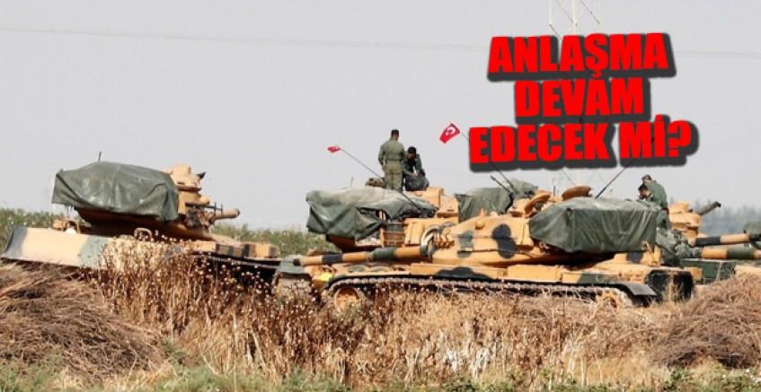YPG/PKK'dan son 36 saatte 14 taciz ve saldırı