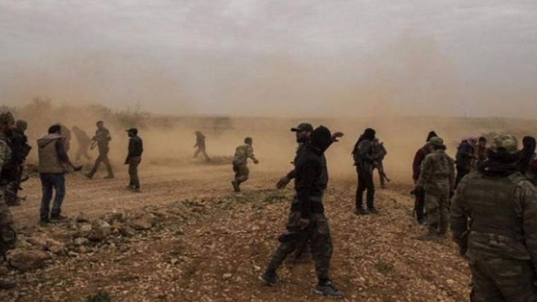YPG/PKK, Deyrizor'da  Arap savaşçıları zorla Rasulayn ve Tel Abyad'a götürmek istedi